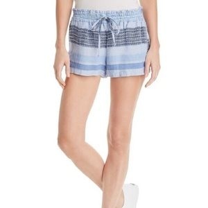 Anthropologie Bella Dahl Striped Shorts